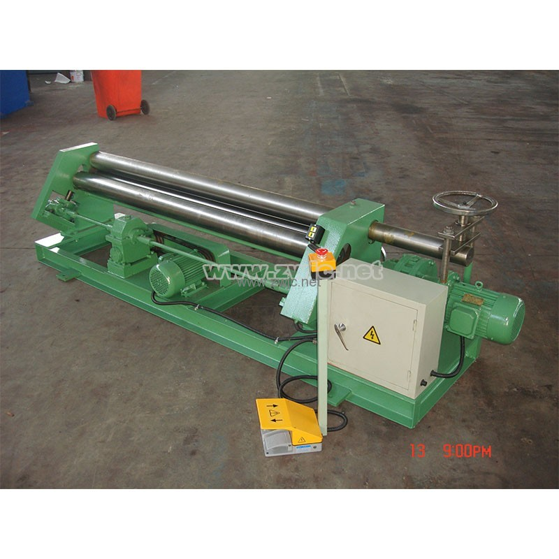 Mechanical assymmetric rolling machine