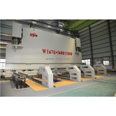 WE67K-large electro-hydraulic servo CNC press brake